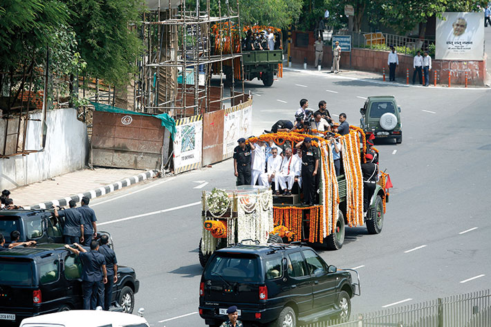 Atal Bihari Vajpayee Final Journey