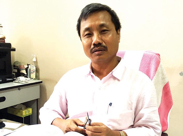 Dr Tapas Chakma