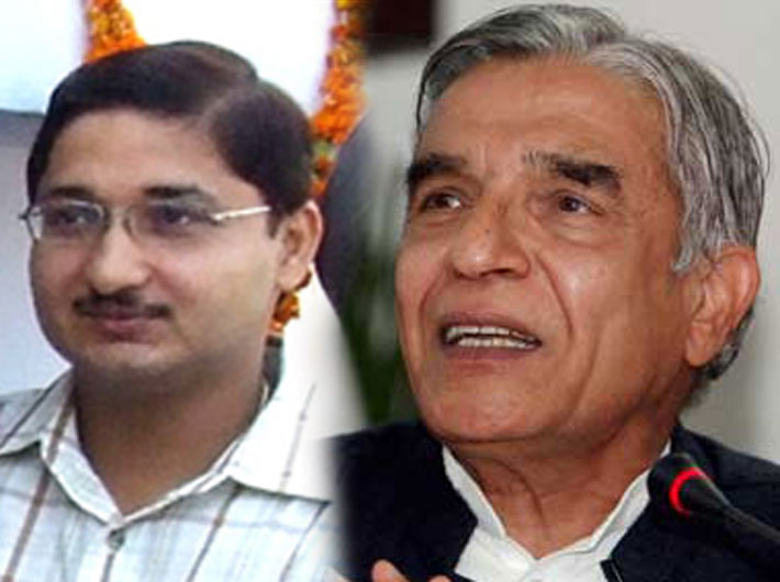 There are umpteen evidences with CBI that suggest Rahul Bhandari (left), a Punjab cadre officer, chose to act as railway minister Pawan K Bansal's Man Friday only for pecuniary reasons, sources indicate.