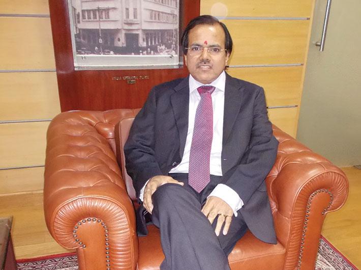 M Narendra, CMD, Indian Overseas Bank