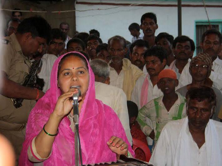 Campaigning in Patliputra, Misa Bharti says Ram Kripal Yadav`s