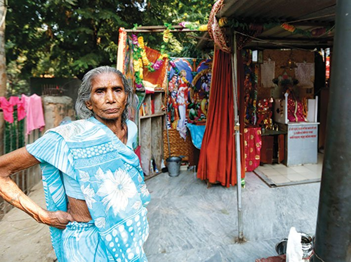 Sumitra Devi has used the RTI to seek her pending pension.