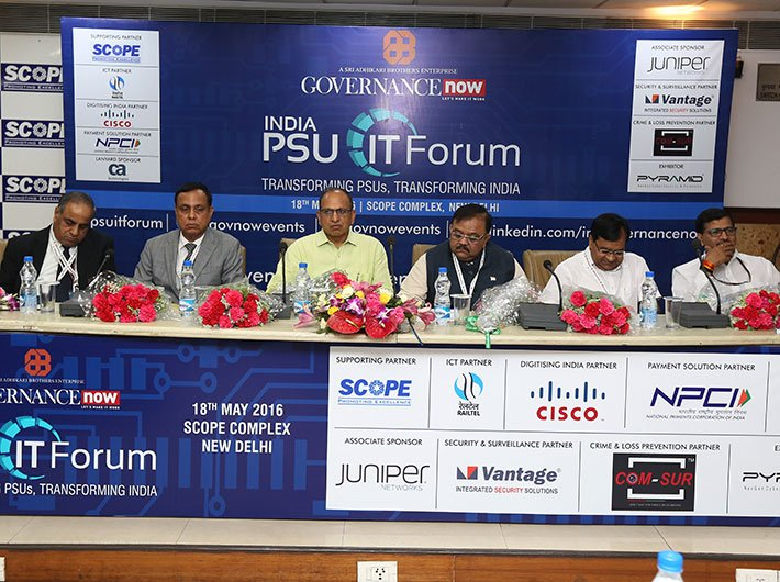 Panelists at PSU IT Forum