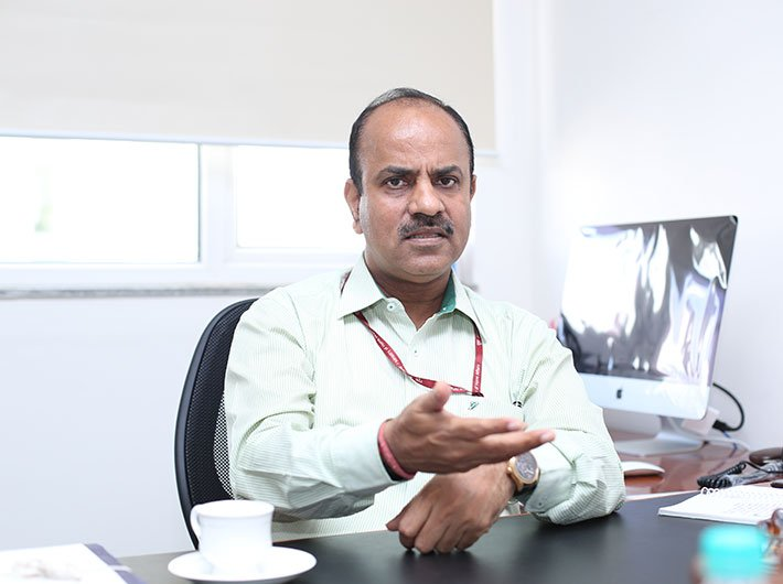 Achal Khare, MD, National High Speed Rail Corporation. (Photo: Arun Kumar)