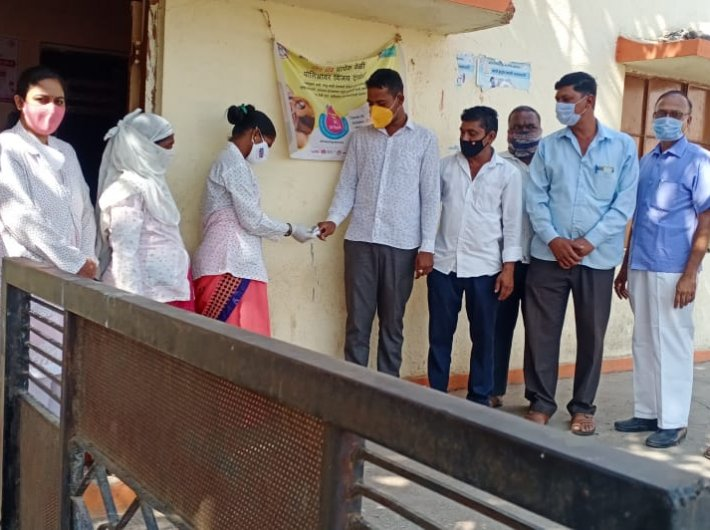 Health workers and others conducted awareness drives and testing camps