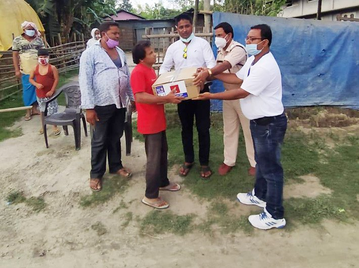 Akshay Patra Foundation carried out nutrition support efforts during the pandemic