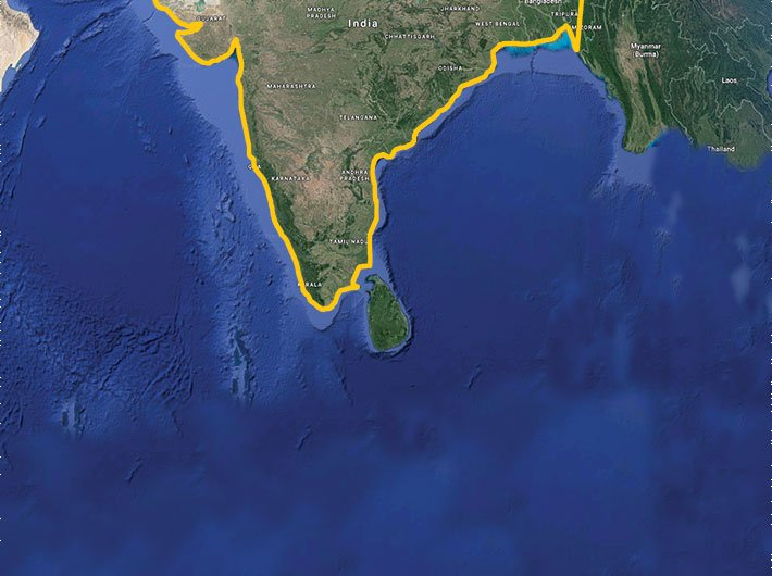 Courtesy: Google Earth