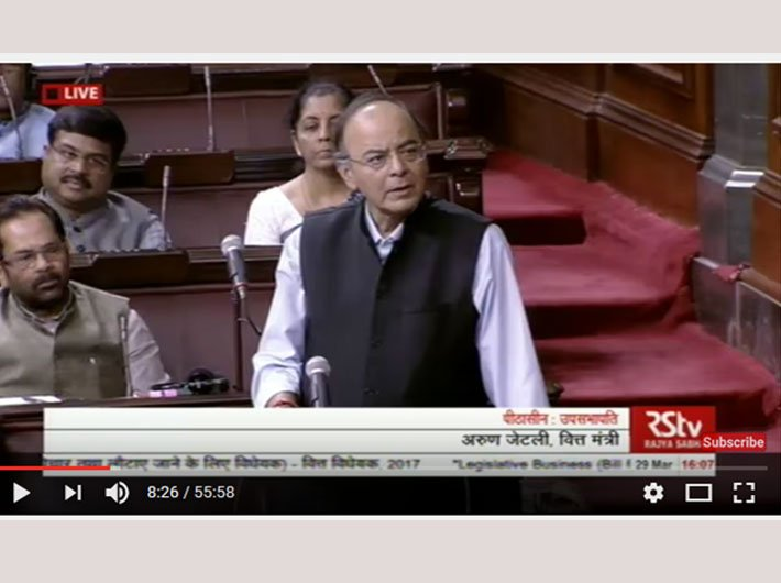 Arun Jaitley, finance minister