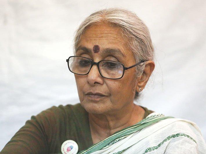 Aruna Roy, co-founder, Mazdoor Kisan Sangharsh Samiti (MKSS)