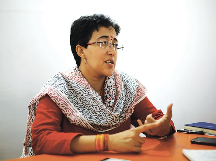 Atishi (Photo: Arun Kumar)