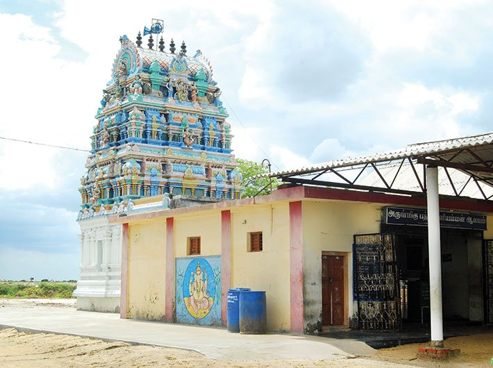 Badrakaliamman temple at Kallimedu village in Nagapattinam