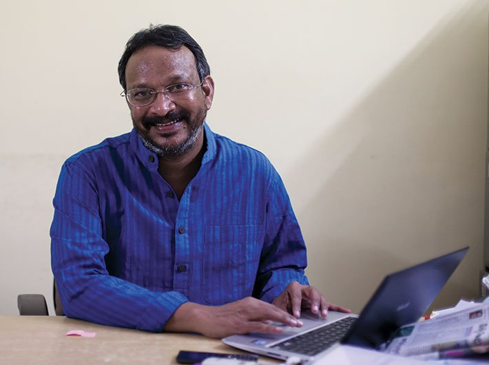 Bezwada Wilson, national convenor, Safai Karamachari Andolan, and Magsaysay award winner