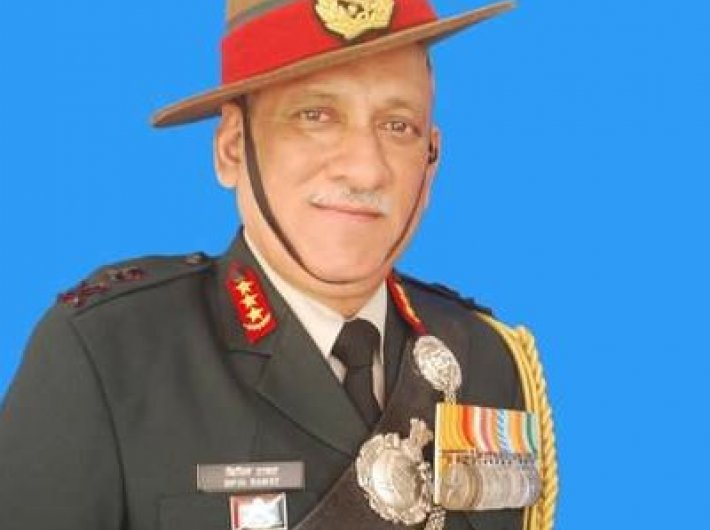 General Bipin Rawat. (Photo: Twitter/@IndianArmyChief)