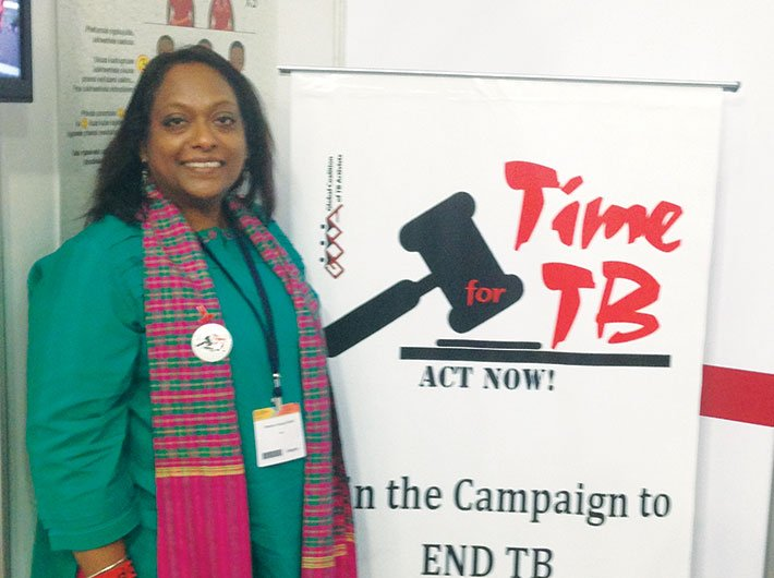 Blessina Kumar, chair, Global Coalition of TB Activists