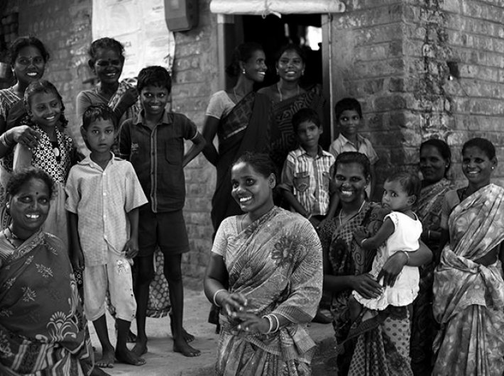 Members of the Yanadi community, Aravapalem village and Nellore district, Andhra Pradesh