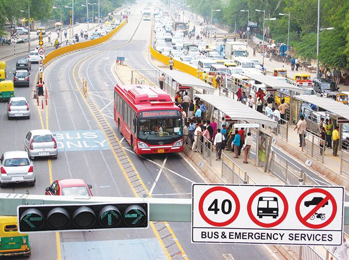 The failure of the BRTS in Delhi shows the need for an apt research paradigm. (Photo: Sandeep Gandhi)