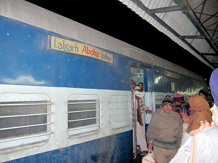 The overnight Lalgarh-Jodhpur train carries around 70 cancer patients from the Malwa region daily to Bikaner for treatment