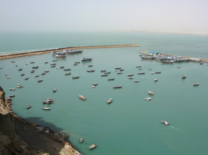 The Chabahar Bay (Image courtesy: Beluchistan/Flickr)