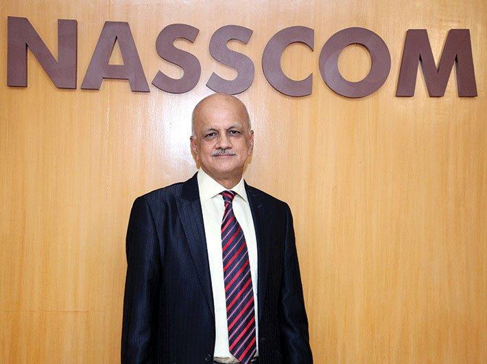 R Chandrashekhar, president, NASSCOM