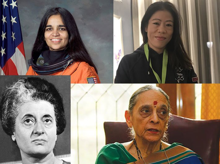First and equals: Indian women who were the `firsts` in their fields