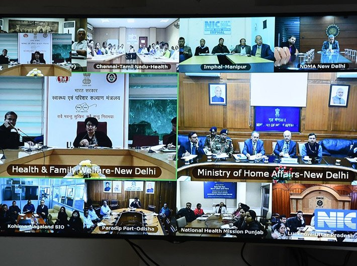 Preeti Sudan, secretary (HFW), chaired a video conference with state officials on Monday to review their preparedness for prevention and management of coronavirus.