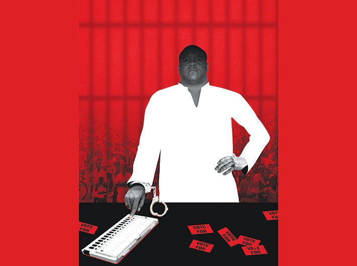 Crime in Politics: The dirty game (Illustration: Ashish Asthana)