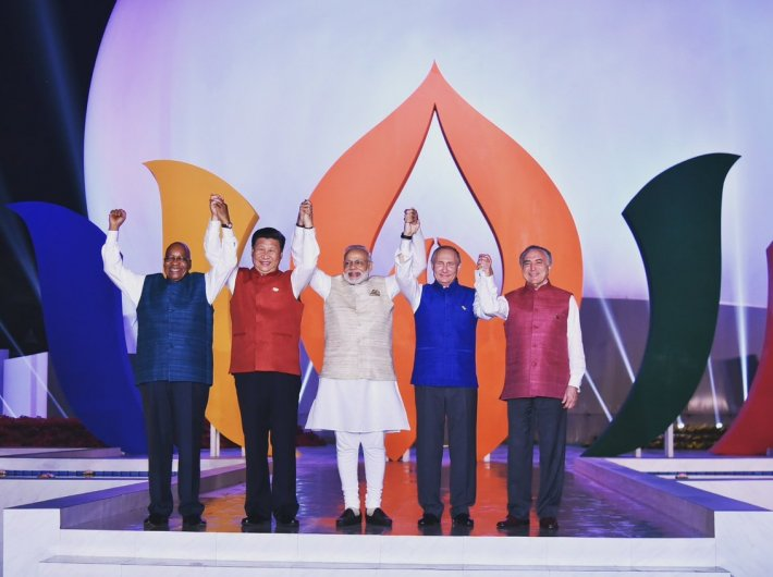 There has always been an overarching political context for the BRICS meetings which essentially underlines that a serious global discourse cannot be the preserve of a few countries