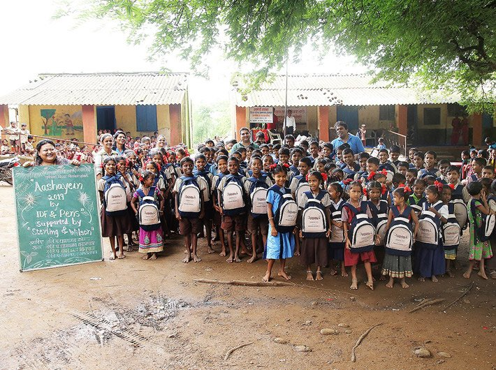 This school in Dahanu, Maharashtra, has benefitted from CSR activities (Photo courtesy: Sterling and Wilson)