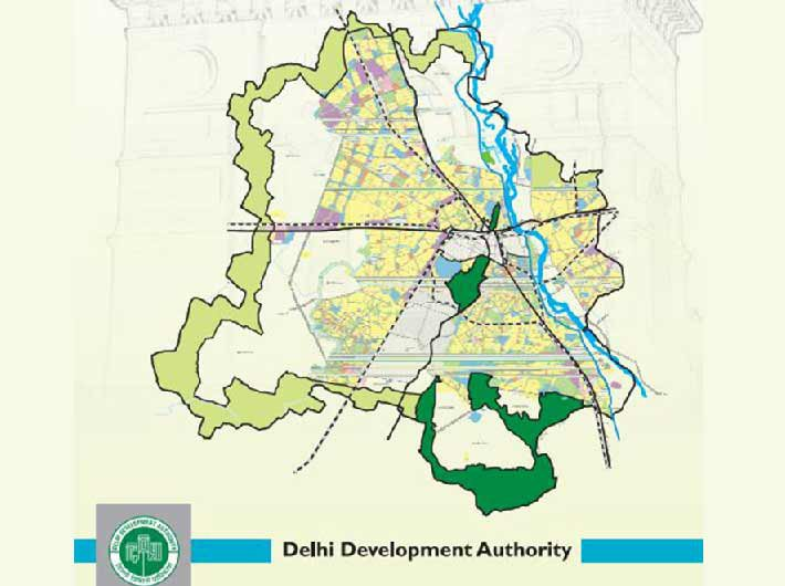 Master plan for Delhi - 2021