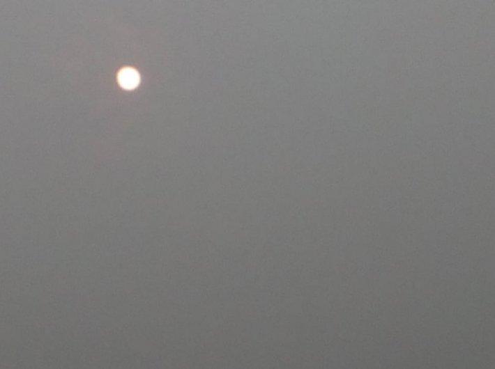 Delhi sky on a December morning (Photo: Governance Now)