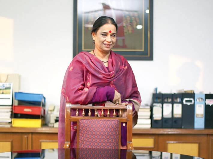 Dr Ranjana Kumari, director, Centre for Social Research, and chairperson, Women Power Connect (Photo: Arun Kumar)