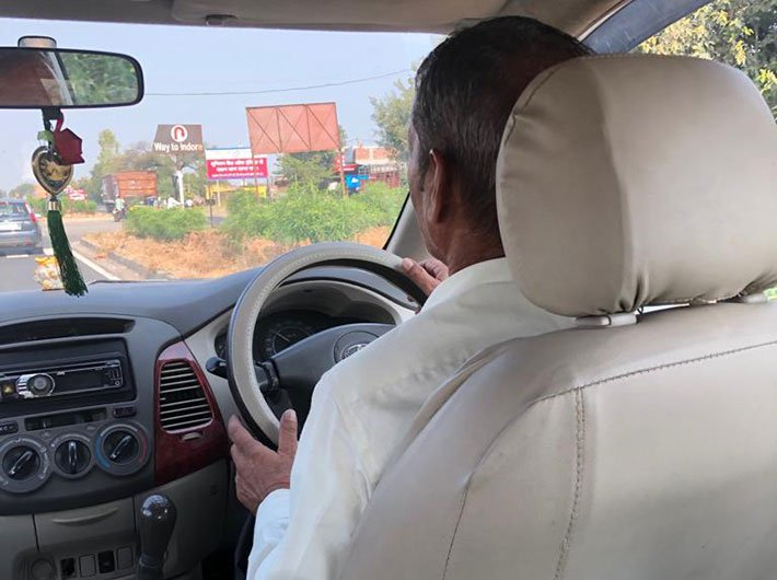Driver Roop Singh dispenses earthy wisdom