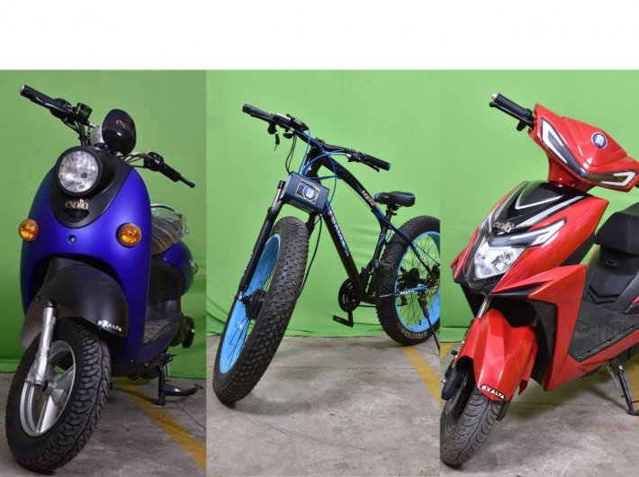 Electric two-wheelers are increasingly becoming part of India`s urban landscape.