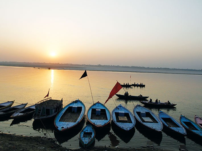 The huge task of cleaning the holy but filthy Ganga will start with sensors to raise red flags when industries pollute it.