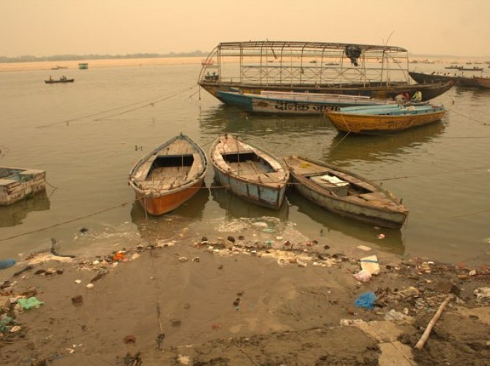 River Ganga in Varanasi. Photo: Swati Chandra