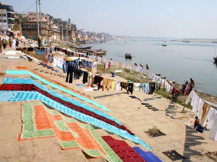 A view of river Ganga in Varanasi