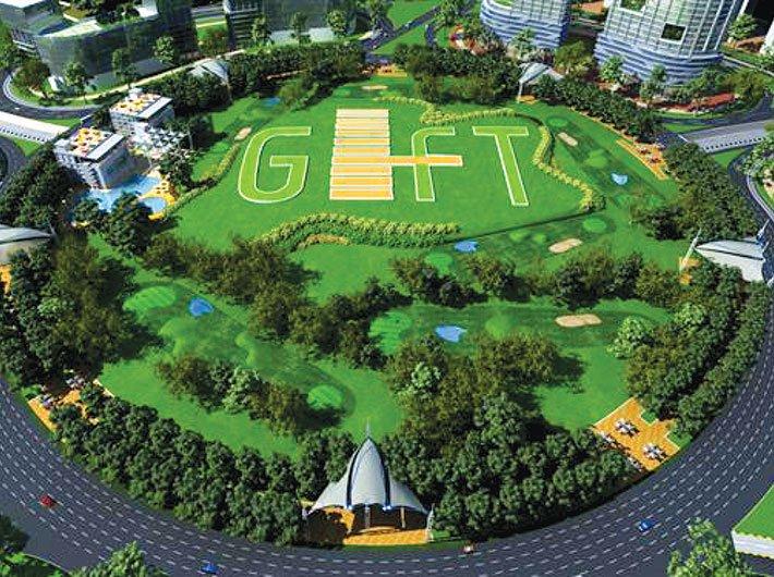 Tapas Udyan at Gujarat GIFT City, Gandhinagar. (Image Courtesy: Gujarat GIFT City)