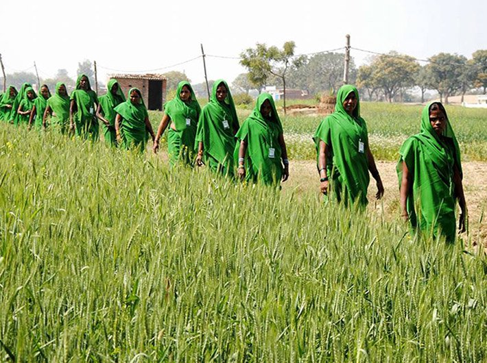 Members of Green Gang in Khushiyari village