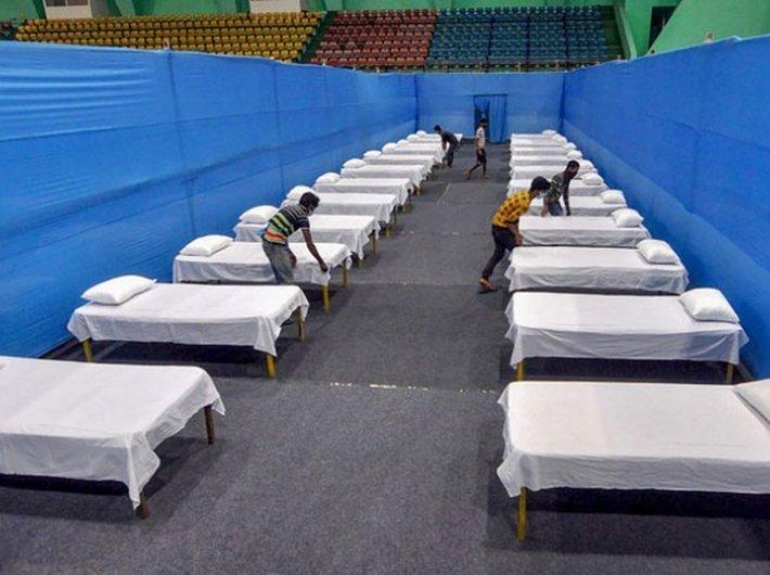 Quarantine facilities in Guwahati. (File photo: @PIB_India)
