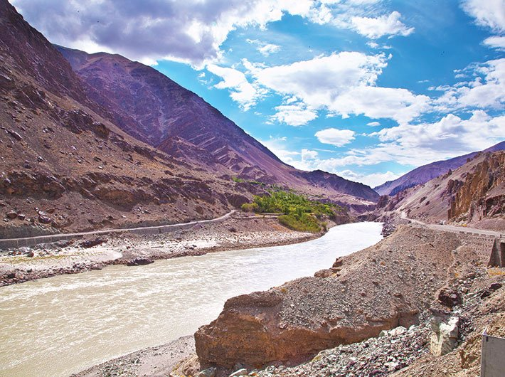 Indus River near Leh. Photo: Creative Commons