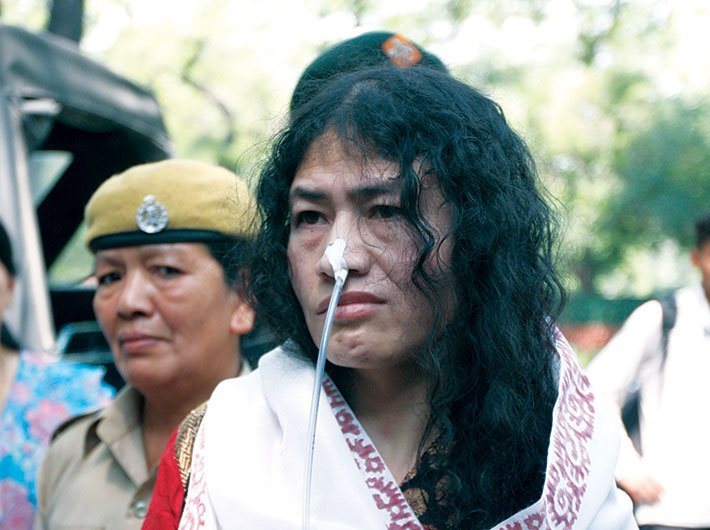 Activist Irom Sharmila has been slapped with the charge of attempt to suicide under the IPC a number of times for trying to fast-unto-death