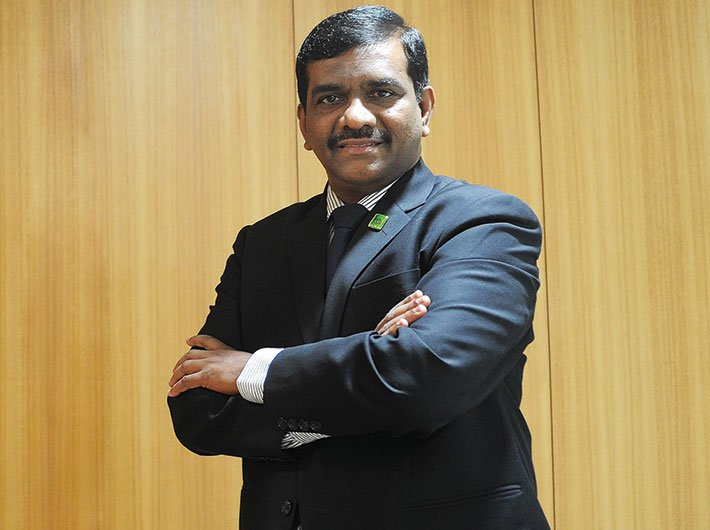 Oriental Bank of Commerce executive director Rajkiran Rai G