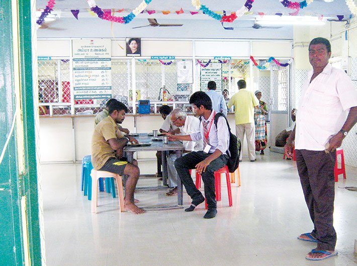 (Amma Unavagam, or Amma canteen, has been quite popular among the masses)