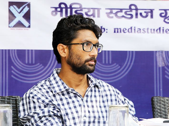 Jignesh Mevani, leader, Una Dalit Atyachar Ladat Samiti