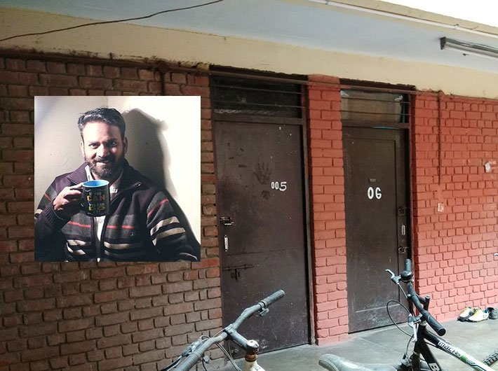 Muthukrishnan's room number '005' remains closed now. The melancholy in the red-bricked Jhelum hostel seems routine.