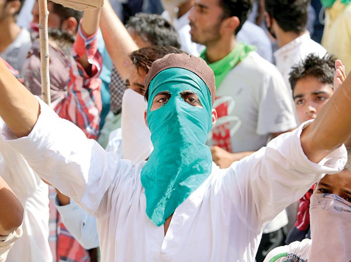 The PDP-BJP alliance was seen as betrayal by the youth of Kashmir (Photo: Arun Kumar)