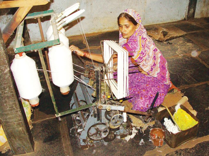 Khadi production, sales and employment have increased significantly