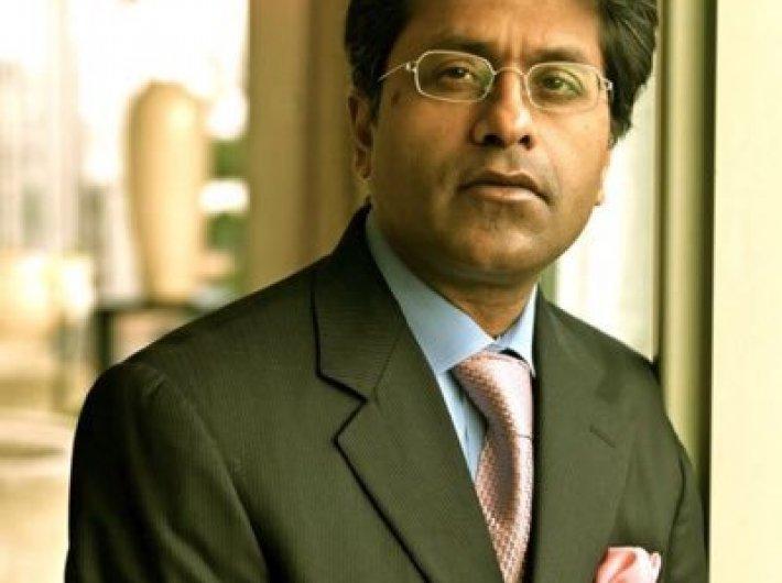 Lalit Modi, chairman of IPL