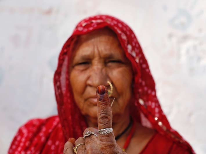 In pictures: Phase 5 of Lok Sabha Elections begin