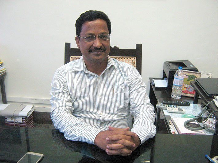 Manoj Kumar Parida, chief secy, Puducherry